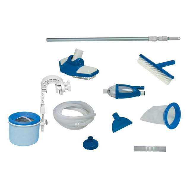 28000E + 28003E Intex Deluxe Pool Surface Skimmer and Maintenance Cleaning Kit
