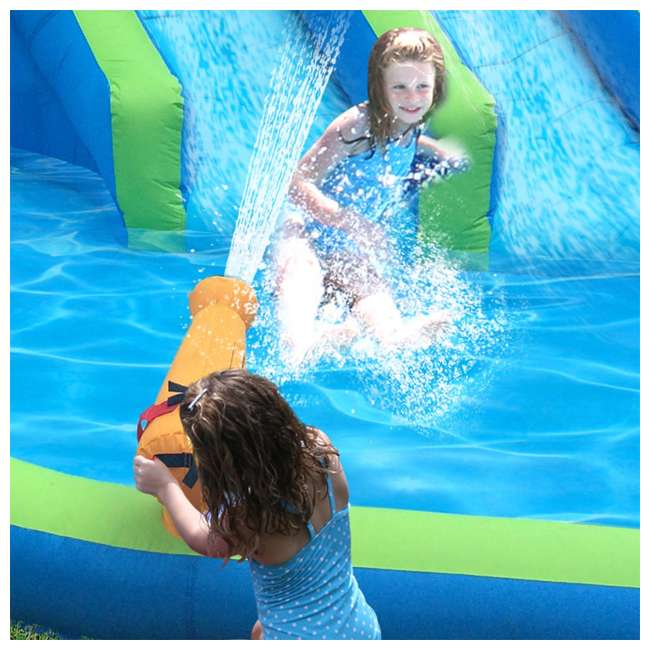 90793 Kahuna Twin Falls Inflatable Water Slide 3