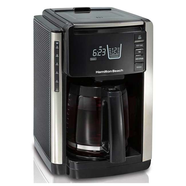 45300 Hamilton Beach TruCount Coffee Maker with Built-In Scale