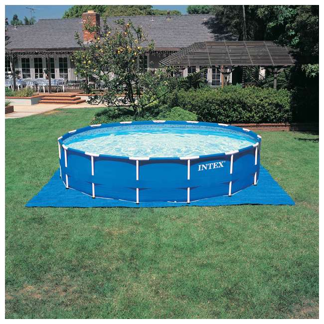 """28241EH + 6 x 29000E + NC-05131 Intex 15' x 48"""" Pool Set with 6 Filter Cartridges + Natural Chemistry PHOSfree 7"""