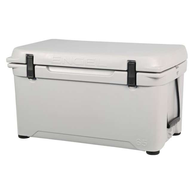 ENG65-G-U-A Engel Coolers 58 Quart 70 Can High Performance Roto Molded Ice Cooler (Open Box) 5
