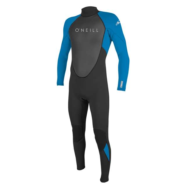 5040-EJ7-L Reactor II 3/2 MM Thick Back Zip Full Wetsuit, Large