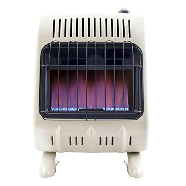 MH-F299710 Mr. Heater Vent Free 10,000 BTU Blue Flame Multi Indoor Safe Propane Heater, Tan