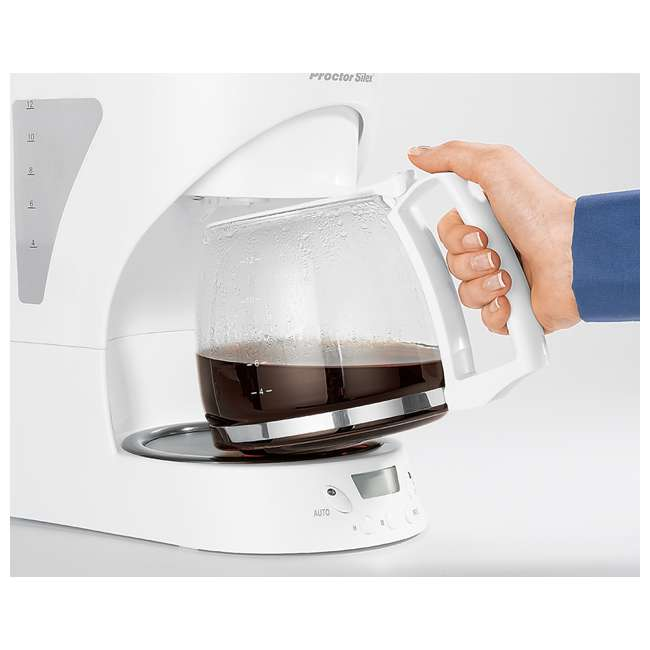 43571Y Proctor Silex 12-cup Automatic Coffee Maker | 43571Y 4