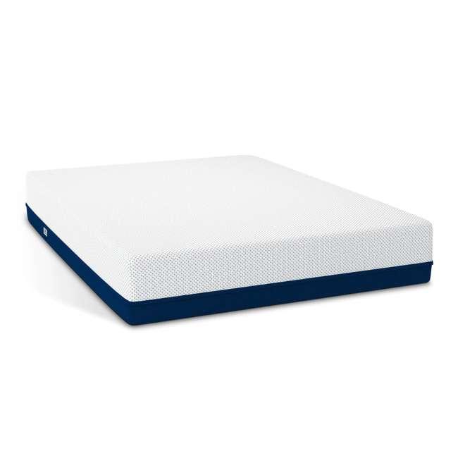 AS4-Q Amerisleep AS4 Medium Softness Bio Core HIVE Foam Queen Size Mattress, White 1