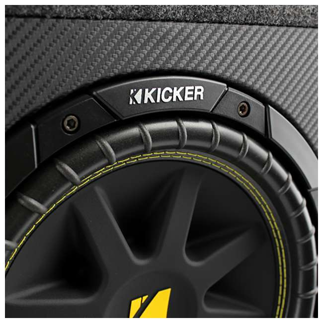 10TC102-3 Kicker 10TC102 10-Inch 300W Loaded Subwoofer with Box, Refurbished 4