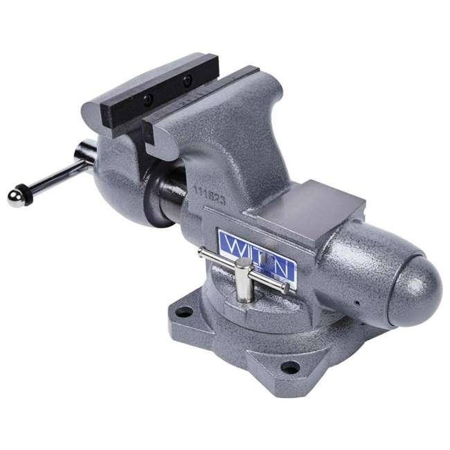 JPW-28807 Wilton Tradesman 6.5 In Jaw Width Steel Swivel Base Anvil Work Bench Vise (2) 7