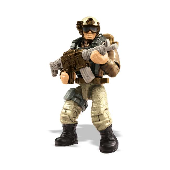 FVG06 Mega Construx LNK2 Call of Duty Desert Heavy Tactical Cargo Truck and Soldiers 1