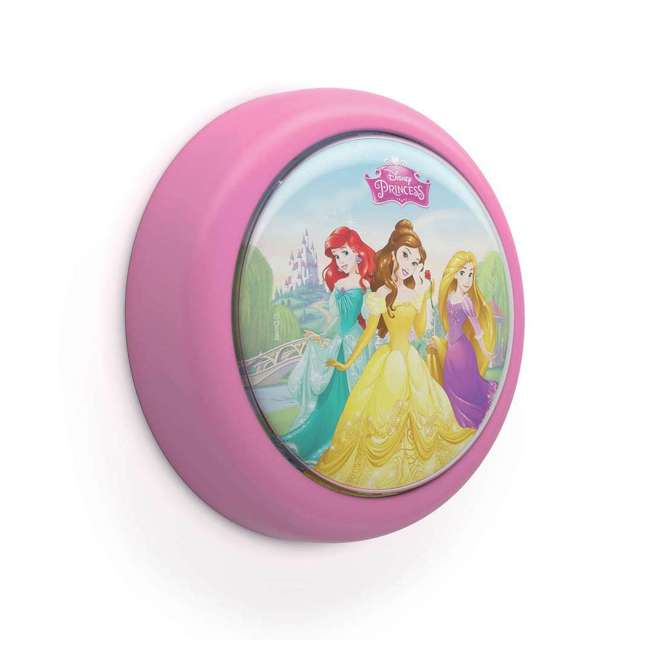PLC-7192428U0 + 2 x PLC-7179628U0 Philips Disney LED Night Light w/ Philips Disney Princess Lamp (2 Pack) 1