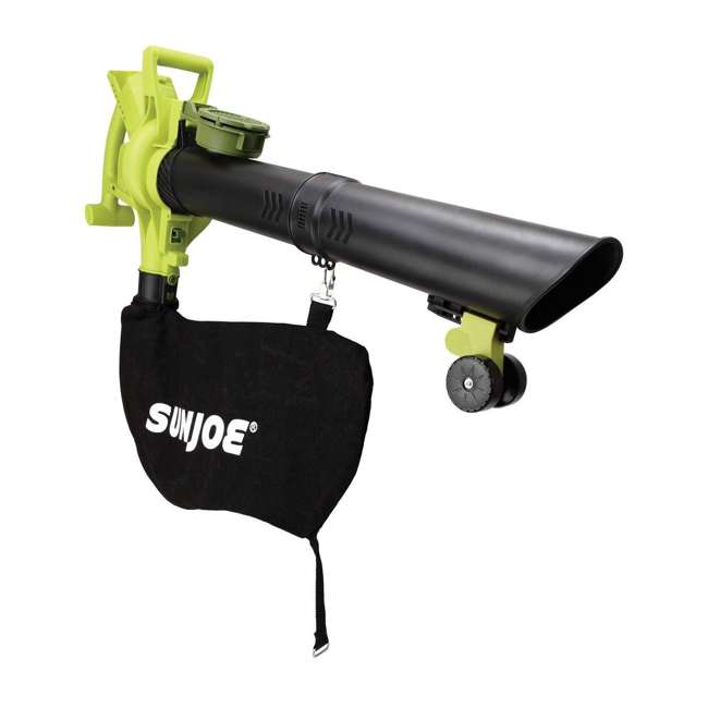 SUJ-IONBV-CT-RB Sun Joe Blower Vacuum Mulcher Gutter Cleaner, Green (Certified Refurbished) 1