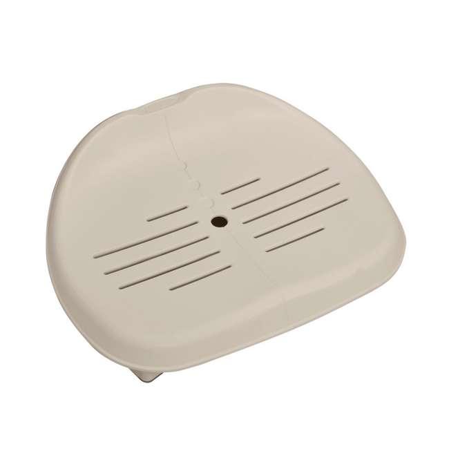 28409E + 28501E + 28500E + 28502E Intex PureSpa 6-Person Hot Tub with Seat and Accessories 9