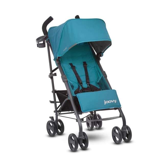 JVY-8120 Joovy Groove Ultralight Compact Canopy Umbrella Stroller, Turquoise