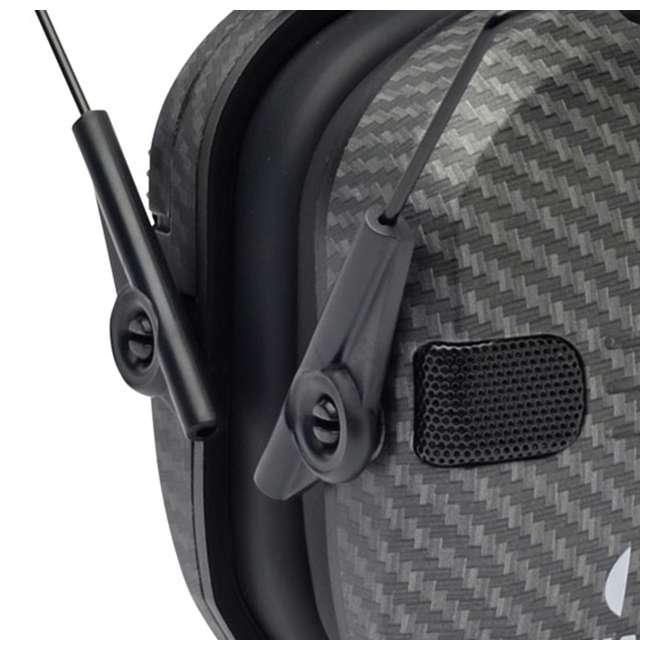 GWP-RSEM-CARB + GWP-REMSC Walker's Razor Hearing Protection Earmuff w/ Walker's Razor Ear Muff Case 3