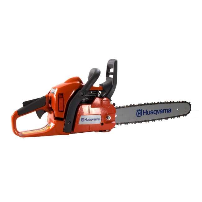 HV-CS-967650802 Husqvarna 435 E-Series 16-Inch Smart Start Gas Chainsaw 1