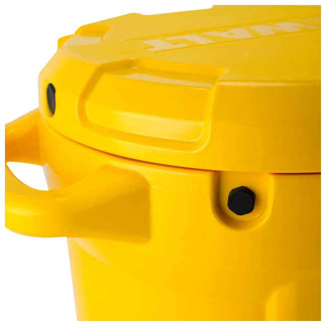 DXC5GAL-U-A DeWALT 5 Gallon Water Jug Dispenser Cooler w/ Spout & Handles, Yellow (Open Box) 7