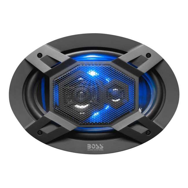 B69LED Boss Audio Elite Series B69LED Full Range Speaker Pair 1