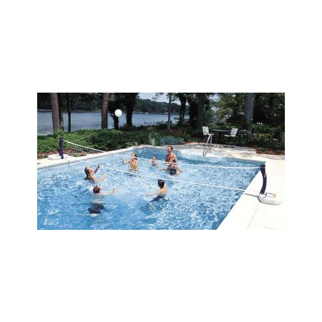 6 x 00381-U-A SwimWays 2-in-1 Poolside Volleyball & Basketball Water Set (Open Box) (6 Pack) 2