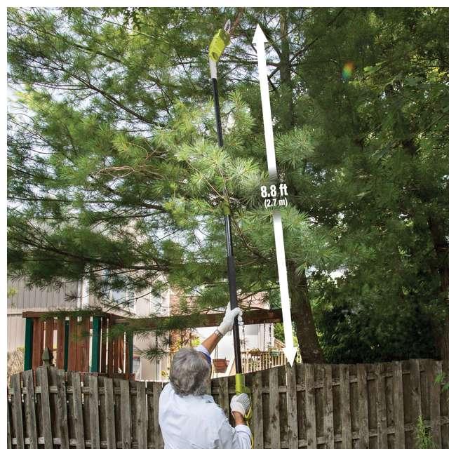 SUJ-SWJ803E-RB Sun Joe Electric 10-Inch Pole Saw, Green (Certified Refurbished) 4
