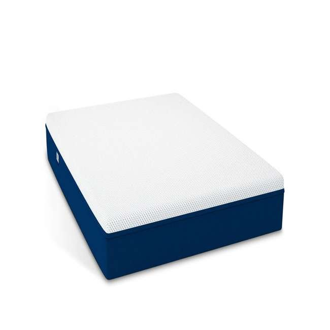 AS1-T Amerisleep AS1 Back and Stomach Sleeper Firm Memory Foam Bed Mattress, Twin 1