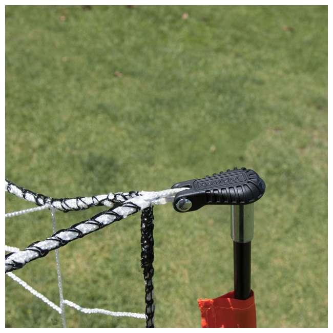 Bow4x6-U-B Bownet 4 Foot x 6 Foot Youth Training Practice Soccer Goal, Orange (Used) 8