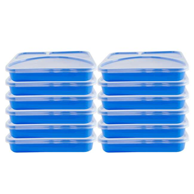 HPD-1 Life Story Reusable Easy-to-Clean Lunch Box Container (2 Trays) 6