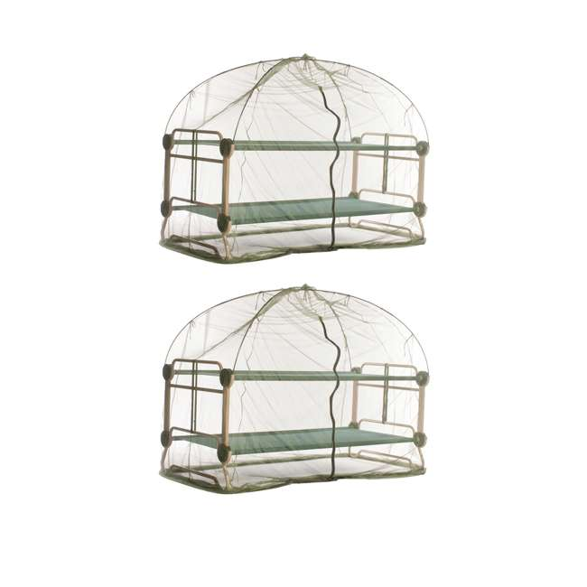 19810 Disc-O-Bed Mosquito Net and Frame (2 Pack)