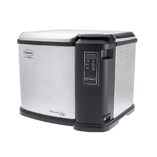 BB-MB23011518SD-U-B Masterbuilt Butterball 20 Pound Indoor Digital Electric Home Turkey Fryer (Used)