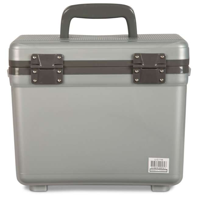 UC7S Engel 7.5-Quart EVA Gasket Seal Ice and DryBox Cooler with Carry Handles, Silver 3