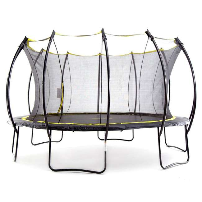 SB-T14STR01-BOX1 + SB-T14STR01-BOX2 + SB-T14STR01- SkyBound Stratos 14 Foot Steel Trampoline + XDP Metal Ground Anchor Kit 1
