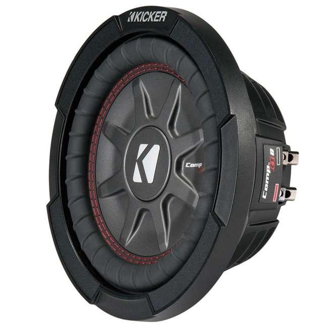 43CWRT82 Kicker 8-Inch 600 Watt CompRT Shallow Subwoofer 1