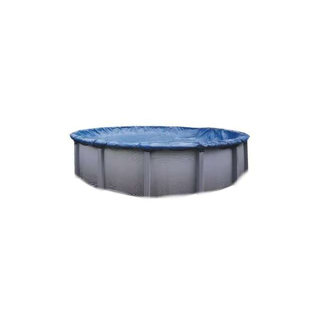 PCO834-U-A Swimline 30 FT Heavy Duty Winter Round Above Ground Pool Cover(Open Box)(2 Pack)