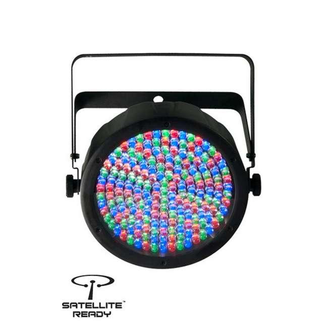 SLIM-PAR64 + DMX3P25FT Chauvet Slimpar 64 LED Slim Style Par Can DJ Stage Light + 25' DMX Cable 1