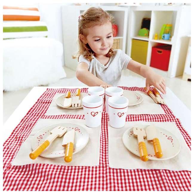 HAP-E3136 Hape Kids Wooden Lunch Time Picnic Play Set 3