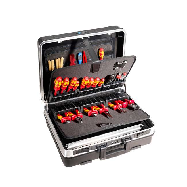120.02/P B&W International 120.02/P Profi Base Plastic Portable Tool Box Organizer Case 3
