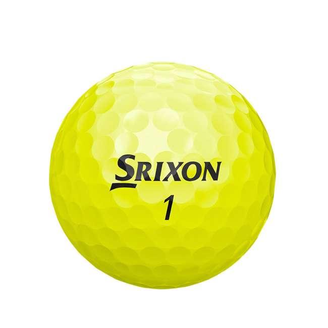 10266590 Srixon Q-STAR 12 Pack of Golf Balls, Yellow 2