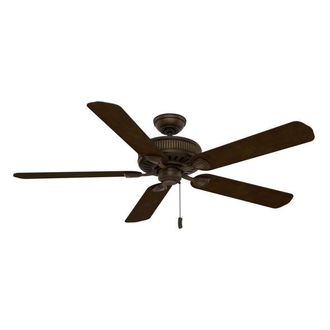 55002 Casablanca Ainsworth 60 Inch Indoor Ceiling Fan w/ Pull Chain, Provence Crackle