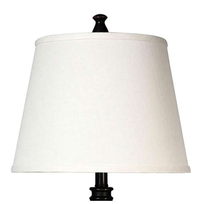 SC-L31357 Abode 84 Bronze Accent Living Room Desk & Table Lamp Set 4