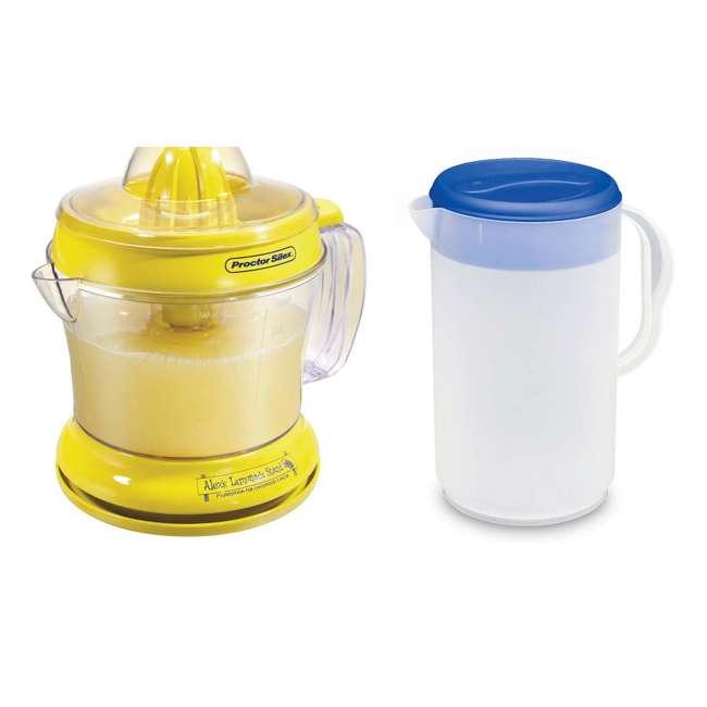 66331 + 0480 Proctor Silex 66331 34-oz. Countertop Lemonade Stand Citrus Lemon/Fruit Juicer