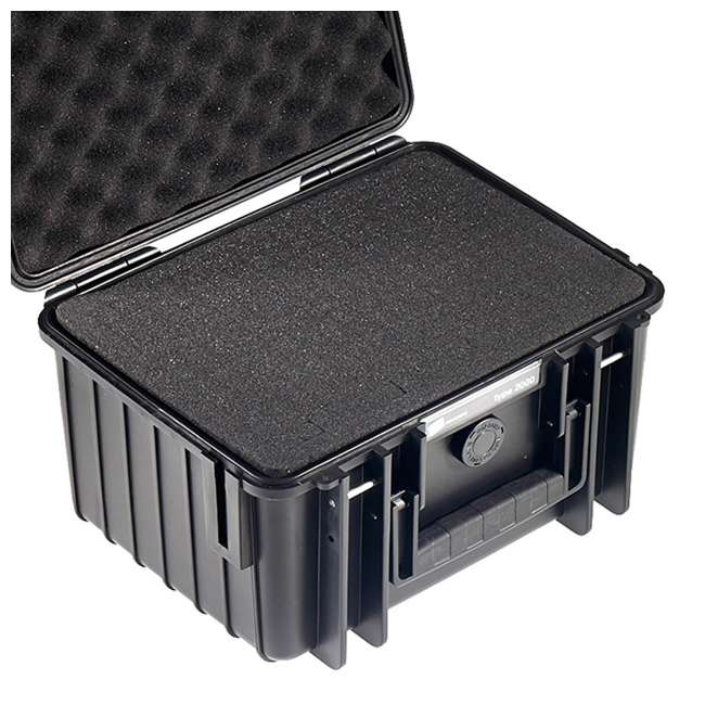 2000/B/SI B&W International 2000/B/SI Hard Plastic Outdoor Case with Removable SI Insert 3