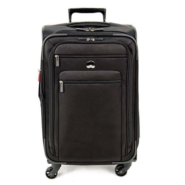 """40328182000 DELSEY Paris Sky 2.0 Lightweight 25"""" Expandable Spinner Travel Luggage, Black"""