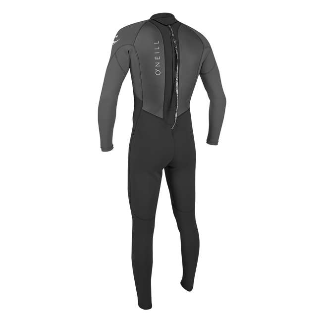 5040-B82-L Reactor 2 3/2 MM Thick Back Zip Full Wetsuit, Large 1