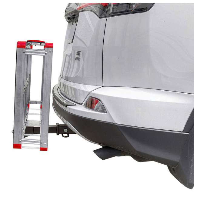 HCC502A Detail K2 HCC502A 500 Pound Trailer Hitch Mounted Aluminum Cargo Carrier Rack 4