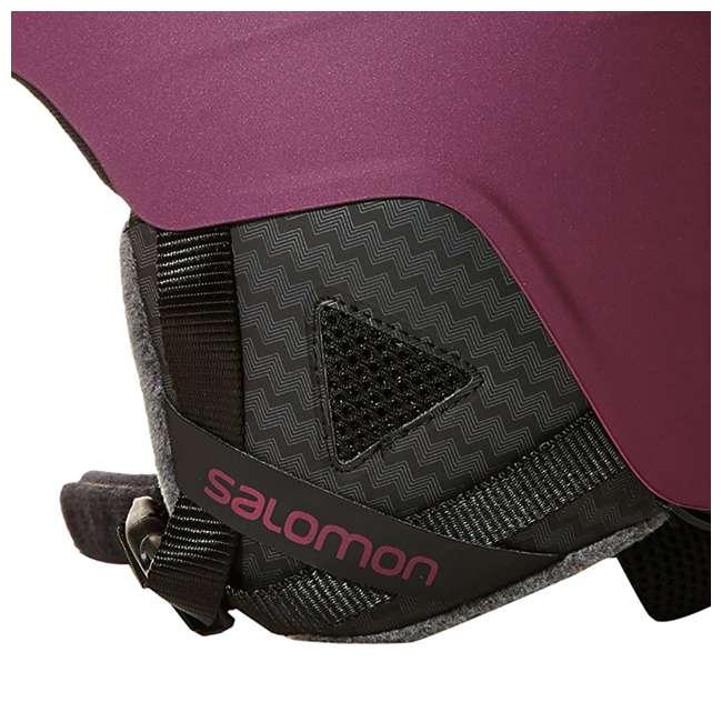 L39952200 - S Salomon Pearl2 Women Ski Snowboard Helmet Small, Red (2 Pack) 4