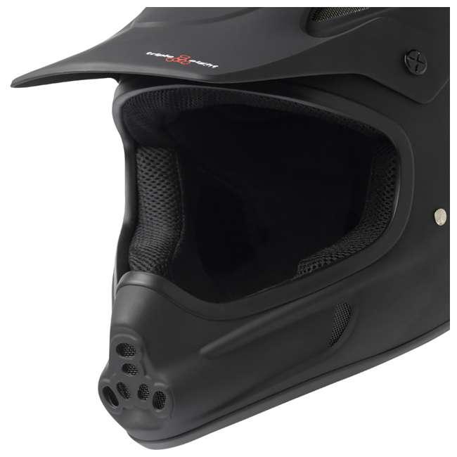 T8-3700-U-B Triple 8 Dual Certified EPS Mountain Bike Invader Helmet, Size XS/S (Used) 2