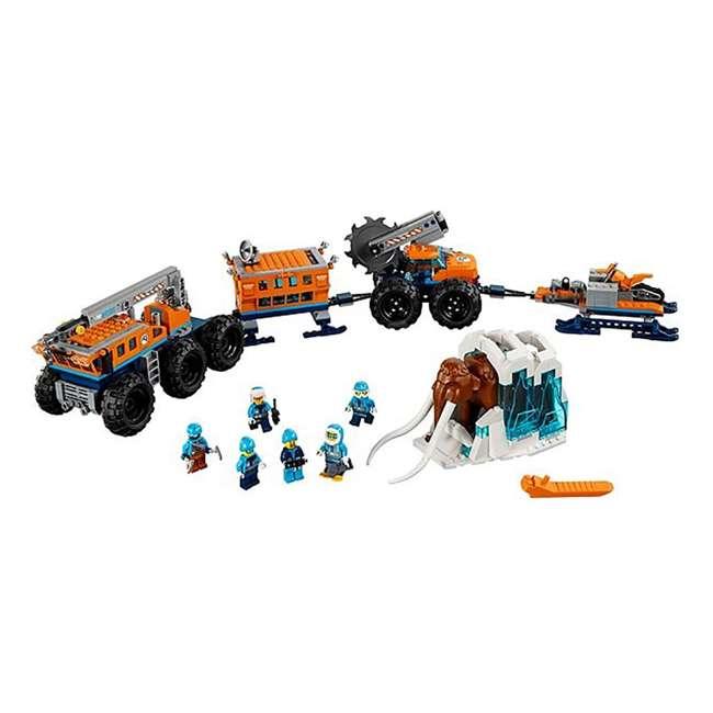 6212400-U-A Lego City Arctic Mobile Exploration Base Toy Set for Children, Blue (Open Box) 1