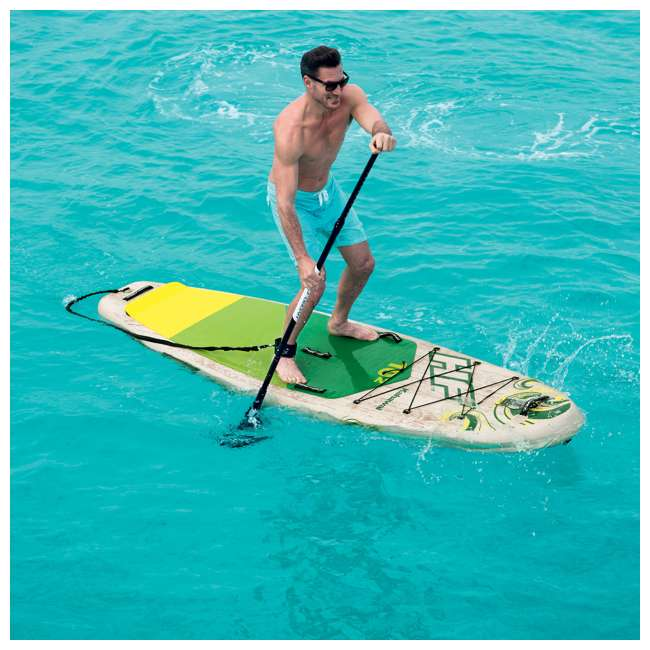 65308E-BW Bestway Hydro-Force Kahawai 10 Foot Inflatable SUP Paddle Board 10