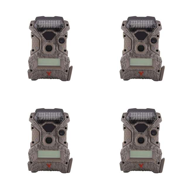 4 x WGICM0558 Wildgame Innovations Mirage No Glow 18 MP Hunting Trail Game Camera (4 Pack)