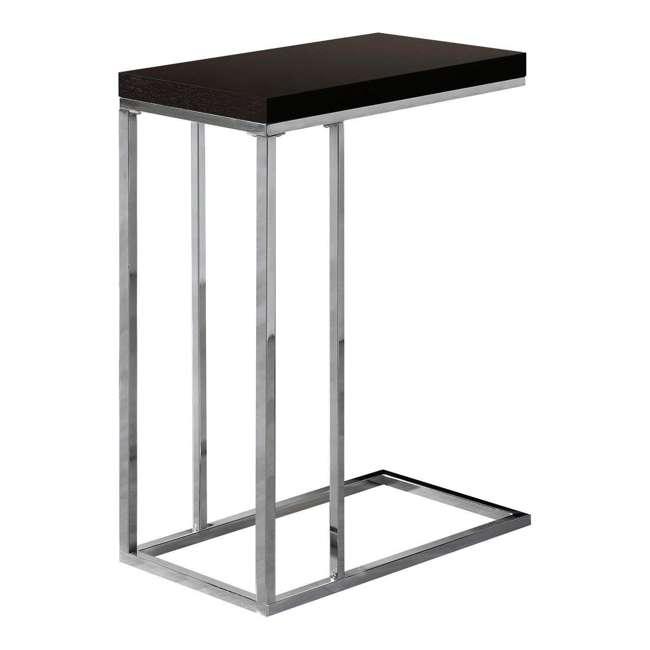 VM-3007-U-A Monarch Specialties Contemporary Rectangular End Table, Cappuccino |  (Open Box)