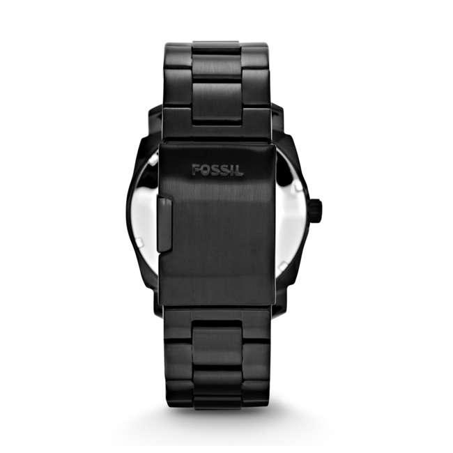 FS4775-U-A Fossil Machine 42mm Black Dial Quartz Stainless Steel Men's Watch (Open Box) 2