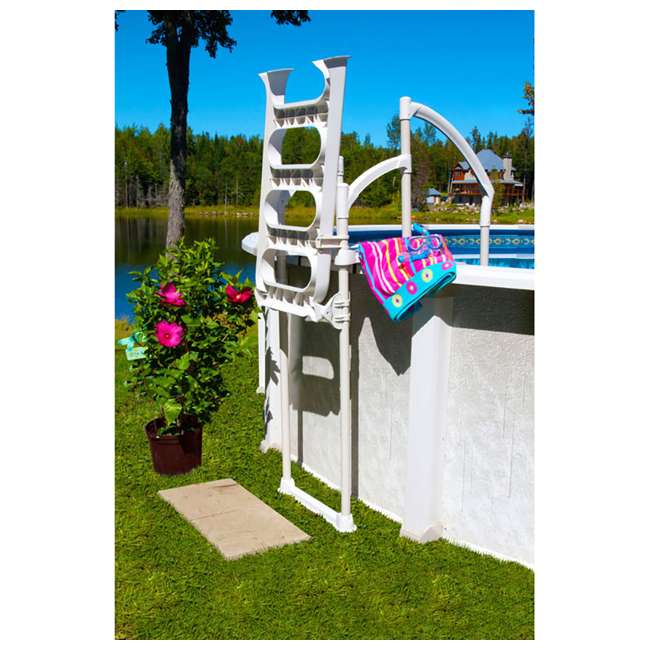 5-CLASSIC 6003 Hollowell Industries 6003-DB Classic Pool Ladder from the Makers of Doughboy 2
